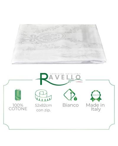 Coppia Federe Damascato Ravello Home