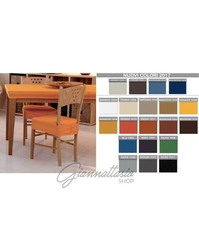 """Genius 4D - Copri tavola, copri seggiola, copri Sedia - Colori tinta unita """"Color"""""""