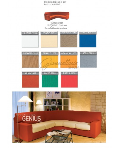 Genius 4D - Genius Suit sofa cover