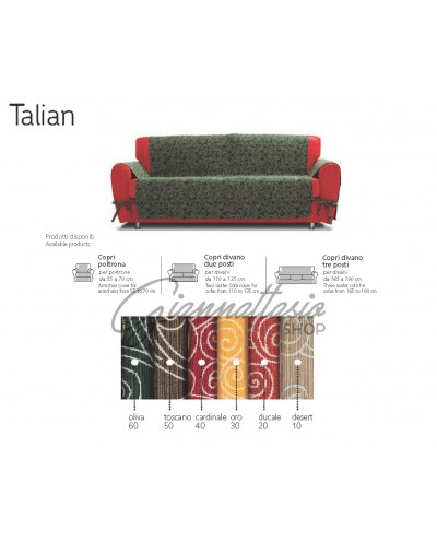 Genius 4D - Talian Sofa Cover, Armchair, Two seater, Three seater