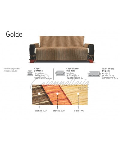Genius 4D - Golde Sofa Cover, Armchair, Two seater, Three seater