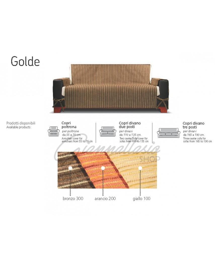 Genius 4D - Copridivano Golde, Poltrona, Due posti, Tre posti