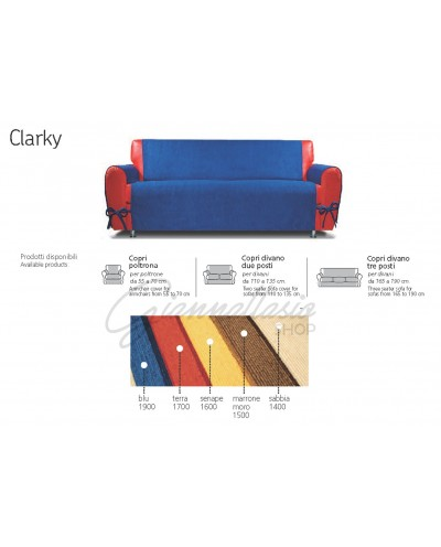Genius 4D - Clarky sofa cover, Armchair, Two seater, Three seater