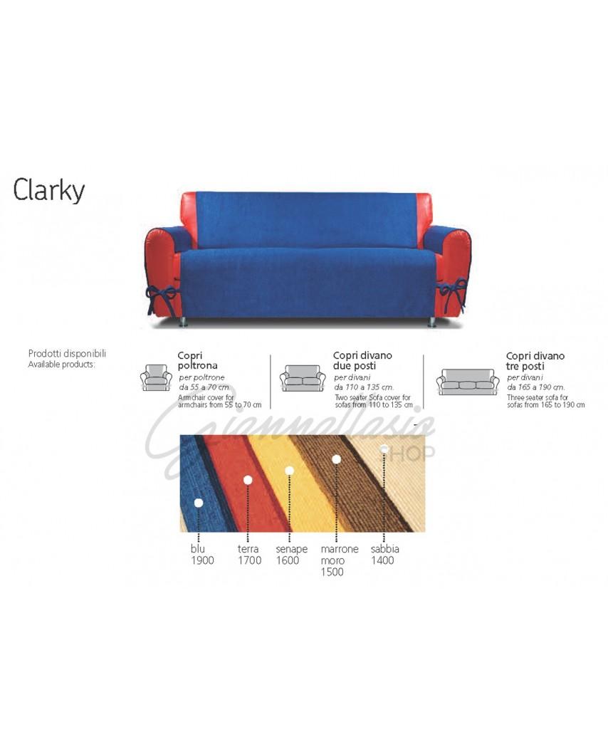 Genius 4D - Copridivano Clarky, Poltrona, Due posti, Tre posti