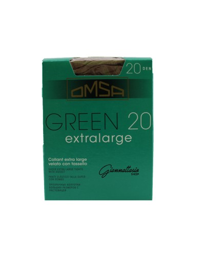 Tights Omsa Green 20