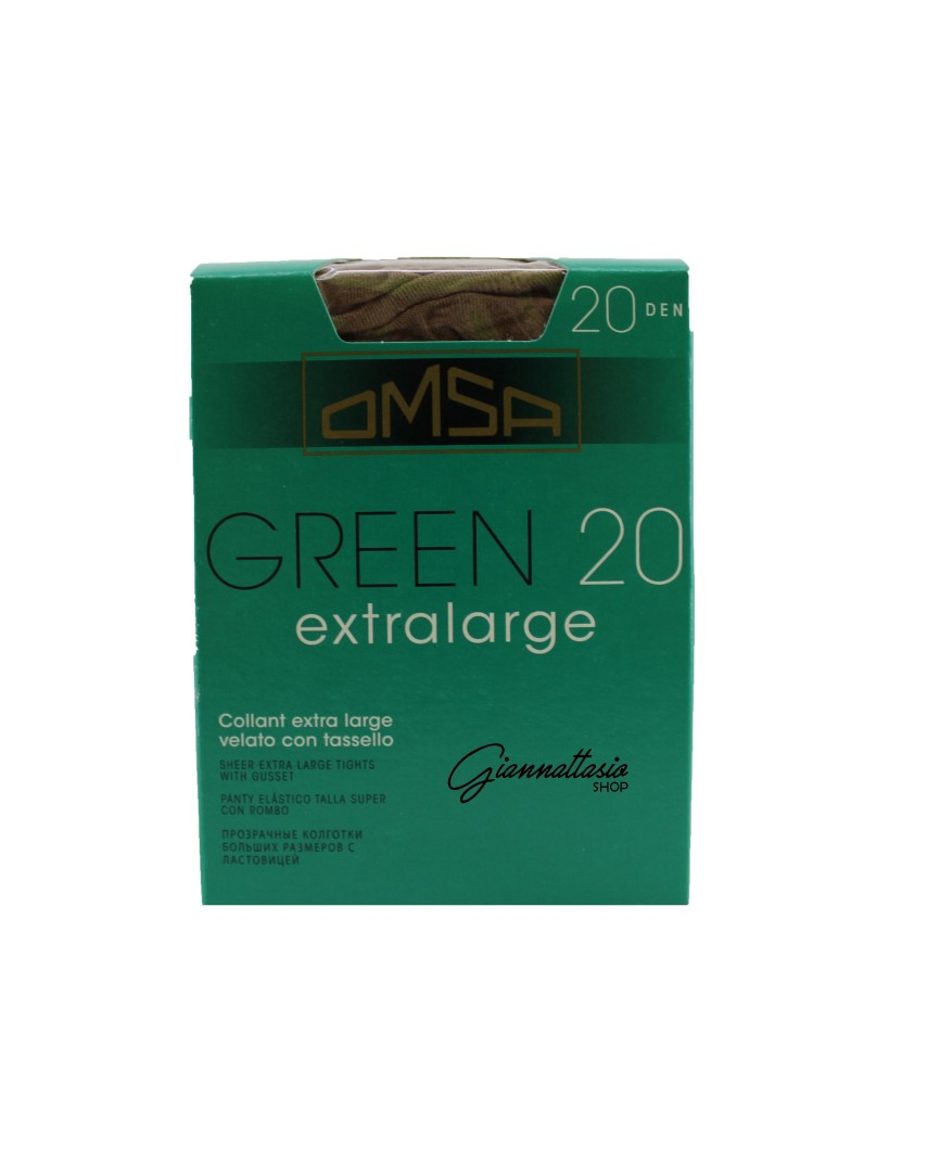 Omsa Collant velato Green 20 denari