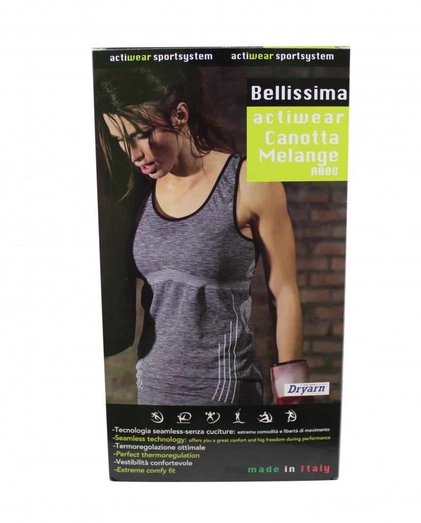 Bellissima canotta melange A008