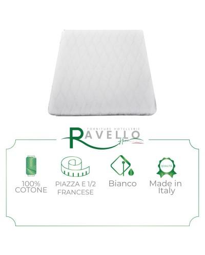 Coprimaterasso in spugna di Jersey Ravello Home