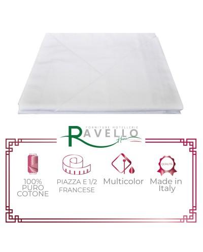 Completo Lenzuola Puro Cotone Ravello Home
